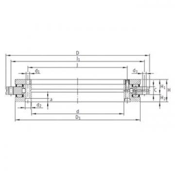 INA YRT850 complex bearings