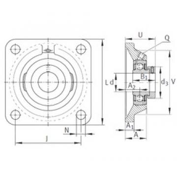 INA PCJ3/4 bearing units