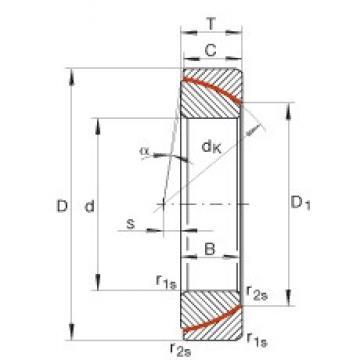 INA GE28-SW plain bearings