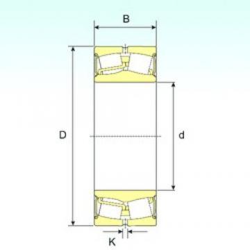 150 mm x 250 mm x 100 mm  ISB 24130-2RS spherical roller bearings