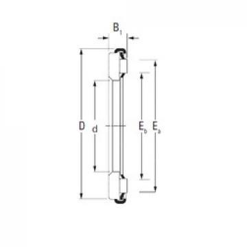Timken AX 6 65 90 needle roller bearings