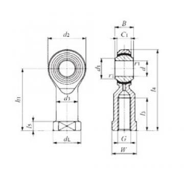 IKO PHS 5EC plain bearings
