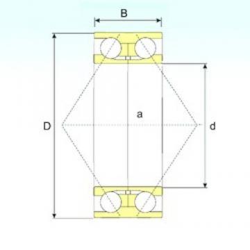120 mm x 260 mm x 106 mm  ISB 3324 angular contact ball bearings