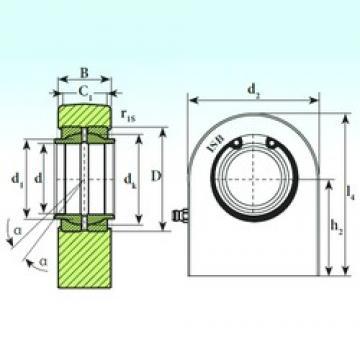 32 mm x 52 mm x 32 mm  ISB T.P.N. 732 CE plain bearings