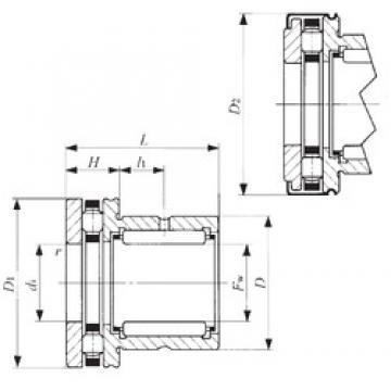 IKO NBX 1523Z complex bearings