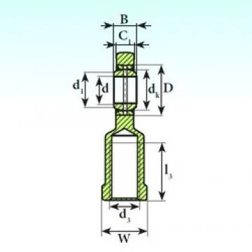 80 mm x 120 mm x 55 mm  ISB SI 80 ES 2RS plain bearings