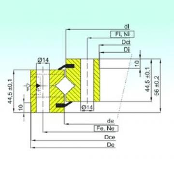 ISB NR1.14.0744.200-1PPN thrust roller bearings