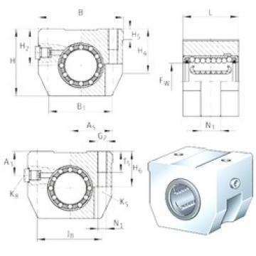 INA KGHK06-B-PP-AS bearing units