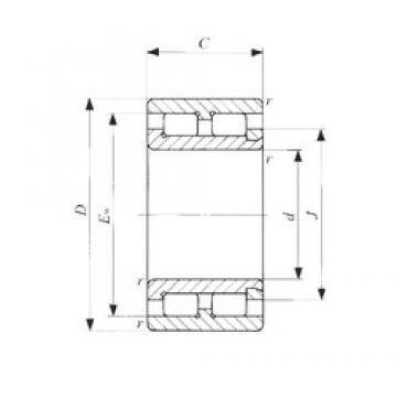 15 mm x 28 mm x 13 mm  IKO NAG 4902 cylindrical roller bearings