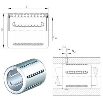 INA KH14-PP linear bearings