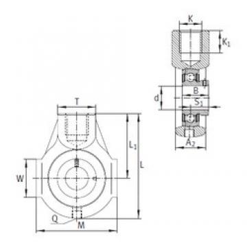 INA PHEY30 bearing units