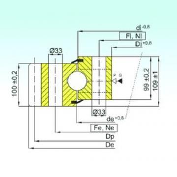 ISB EB1.50.2130.400-1SPPN thrust ball bearings
