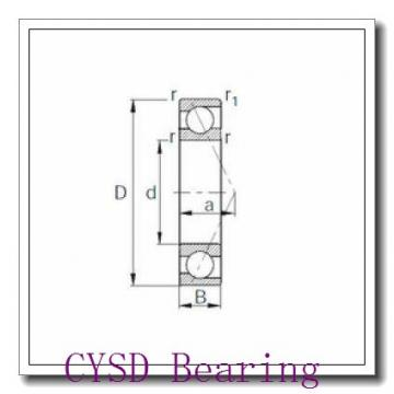 80 mm x 125 mm x 22 mm  CYSD 6016-RS deep groove ball bearings