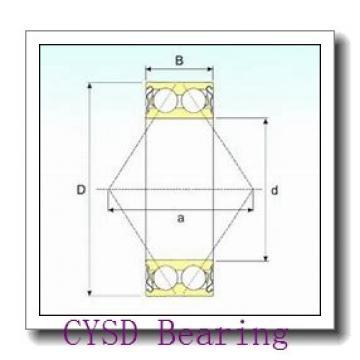 35 mm x 80 mm x 21 mm  CYSD 7307BDT angular contact ball bearings