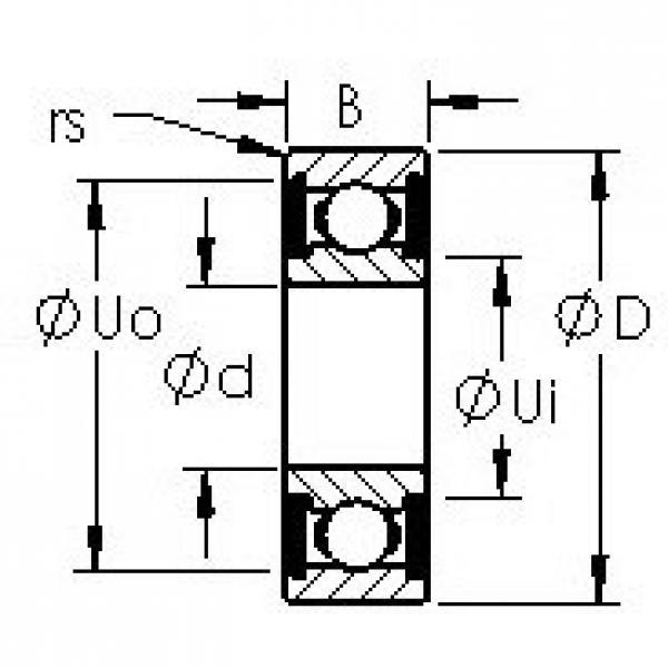 AST 6009-2RS deep groove ball bearings #2 image