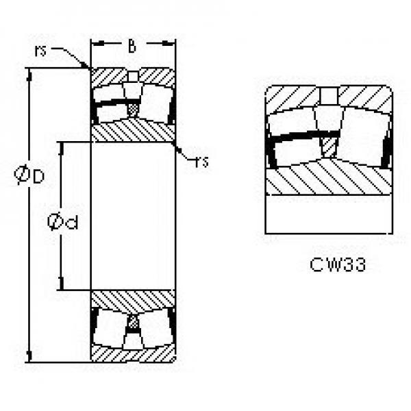 AST 22240CW33 spherical roller bearings #2 image