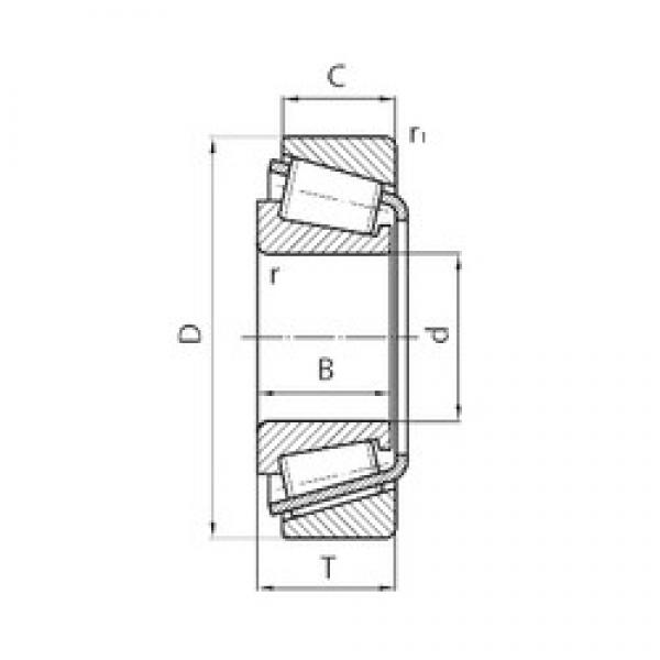 32 mm x 65 mm x 26 mm  CYSD 332/32 tapered roller bearings #3 image